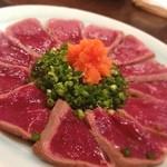 GRAN - 牛肉のタタキ☆  ワインが合うぜぃっ☆