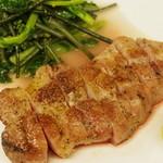 リナトキッチン - イベリコ豚のハニーマスタードソース