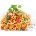 ビーンズガーデンカフェ - 料理写真:ベーコンと彩り野菜のアラビアータ