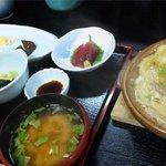 楽味 明青 - 9月のとある平日お昼の日替膳(840円)