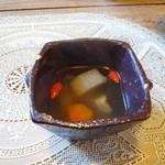ティーカシェット - 料理写真:スープ