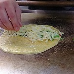 長田いっしん - チーズ焼き