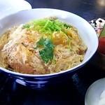 まんぷく亭 - セットのカツ丼(2013/11)