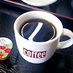 まんぷく亭 - セットのコーヒー(2013/11)
