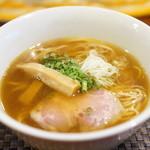 らぁ麺やまぐち - 追い鰹中華そば750円