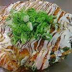 長田いっしん - 豚焼き、ねぎ、ぼっかけ、たまご。