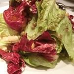 22773255 - グリーンリーフとお豆のサラダ