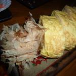 和食個室×とろろしゃぶしゃぶ にっぽん市 - フワフワ明石焼き風だし巻卵(580円)