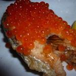 和食個室×とろろしゃぶしゃぶ にっぽん市 - 時鮭のムニエル イクラソースかけ(780円)