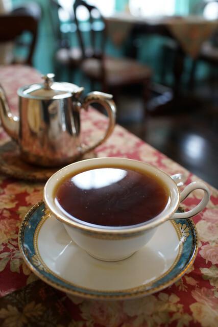 北浜レトロ - ランチの紅茶