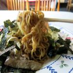 福田屋 - 料理写真:丁寧に焼かれた麺