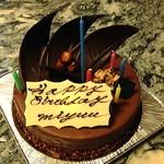 グランディール - グランディールの誕生日ケーキ ノア15cm 3200円 2013.11月撮影