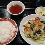 大洋軒 - 肉野菜炒めライス