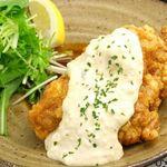 ひな鶏唐揚 新次郎 - チキン南蛮680円