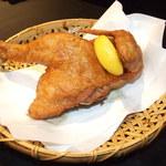 ひな鶏唐揚 新次郎 - ひな鶏の唐揚げ 980円