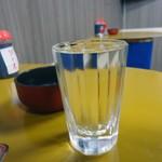 づめかん - 【再訪】「純米酒」銘柄不明。400円也。