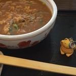 そば うどん 今日亭 - カレー蕎麦 大盛り