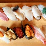 八田寿司 - 旬の握り