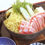 味喰笑 - 豚すき御膳  1150円