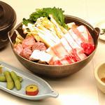味喰笑 - ちゃんこ鍋御膳 1350円