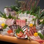 日本海庄や -  仰天!大漁盛(12点盛) 3500円(税別)