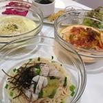 フトゥロ カフェ - 夏の冷製パスタ