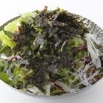 韓のおしり - 韓国海苔のさっぱり塩ダレチョレギサラダです。