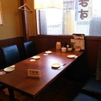 日本海庄や - 様々なタイプのお席をご用意しております。