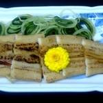 天狗鮨 - 煮穴子(860円)