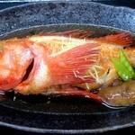 天狗鮨 - キンキの煮付け(3,780円)