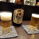 文次郎 - ビールは赤星のみです