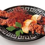 新やるき茶屋 - ウイグル族の羊串(2串)380円(税別)