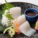 新やるき茶屋 - いか刺し 500円(税別)