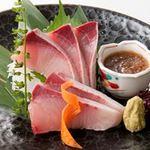新やるき茶屋 - はまち刺身 580円(税別)