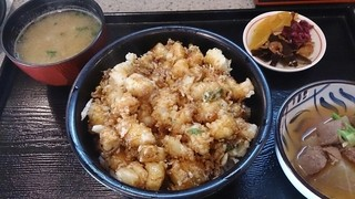 天里 - かきあげ丼 1,050円