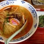 中華料理 好楽 - 素辣湯麺(辛いラーメン)600円