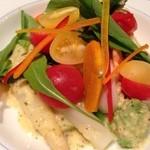 22789465 - 温野菜のサラダ