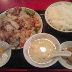 2279926 - ホイコーロー定食(850円)