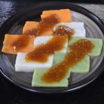 くぼ田 - 自家製の酢味噌が絶品! さしみこんにゃく