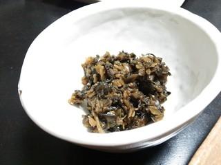 ㈱丸長食品 - まぜちゃい菜110g(350円)