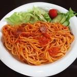 麻 - 料理写真:スパゲティーナポリタン
