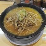 東座 - 濃厚味味噌白湯ラーメン