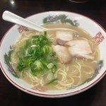 はかた屋たい - 料理写真:ラーメン600円(通常の麺)は、極細に比べると山口っぽいです☆(第一回投稿分③