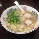 はかた屋たい - ラーメン600円(極細麺)は、通常麺と比べると、一気に博多っぽくなります☆(第一回投稿分④)