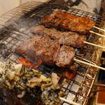 牛○ - 串焼きでも食べれます