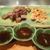 ステーキハウス西湘 - 料理写真:サイコロステーキコース3,450円の特選和牛サイコロステーキ