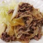 立ち呑み処えっちゃん - 牛肉のすき煮