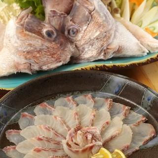 季節のお魚をリーズナブルに提供いたしております!旬の地魚を是非ご賞味ください。