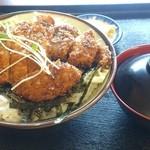 定食屋菜 - のりしきカツ丼