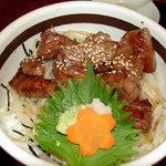 さくら - 和牛ステーキ丼(さくら、所沢)